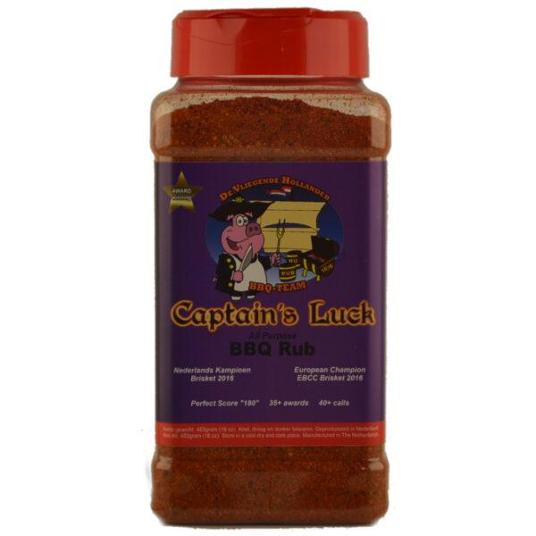 CAPTAIN'S LUCK BBQ RUB 453GR